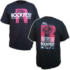 98.9 The Rock 2016 RockFest Men's Short-sleeved T (Black)