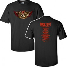98.9 The Rock 2017 RockFest Short-sleeved T (Black)