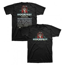 98.9 The Rock 2018 RockFest Short-sleeved T (Black)