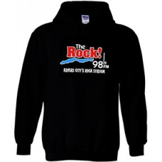 98.9 The Rock Hoodie (Black)